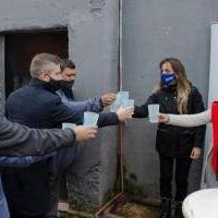 Tigre: Malena Galmarini inauguró junto a Concejales del FR Todos una red de agua potable para El Talar