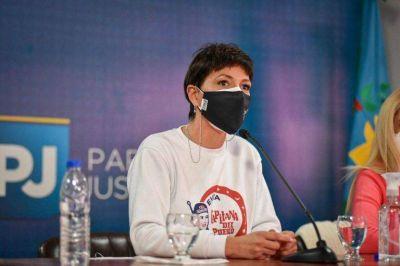 Mayra Mendoza participó del Congreso del PJ Bonaerense