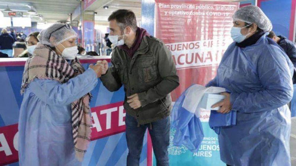 Se alcanzó en Pilar los 100.000 vacunados contra el covid-19