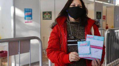 En Esteban Echeverría ya se aplicaron más de 117 mil dosis contra el coronavirus