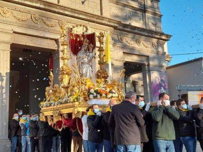 Emotiva celebración en el día de la Virgen de La Consolata de Sampacho