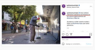 """Quilmes: sorpresivos """"operativos de limpieza"""" en las redes del municipio, tras las notas sobre la basura y el abandono en el centro publicadas por Cuatro Medios"""