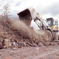Palpalá: mega operativo de limpieza para la erradicación de macrobasural