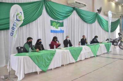 En Libertador, Morales presentó la licitación de una planta de clasificación, transferencia de residuos y equipamientos para instituciones