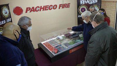Tigre: Se construirá un nuevo cuartel de bomberos en el barrio Las Tunas