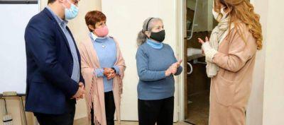 Avellaneda: Chornobroff y Sierra inauguraron remodelaciones en el Centro de Jubilados San Emilio