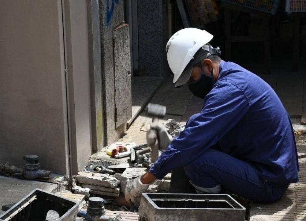 Trabajos de ABSA en Berisso para optimizar el recurso