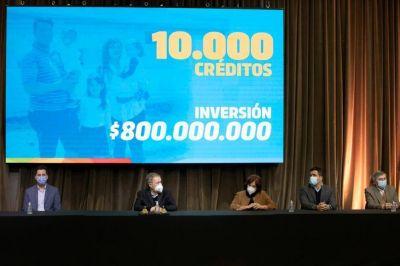 Schiaretti lanzó créditos a tasa cero para vivienda por unos 800 millones