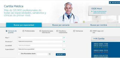 Cartilla OSDE: cómo buscar tu especialista y tener tu credencial digital