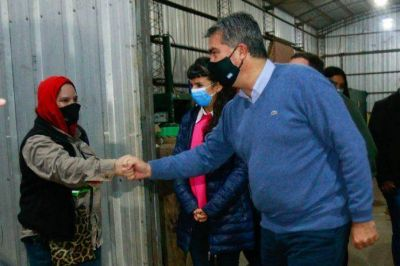 En Charata, Capitanich entregó equipamiento para la planta de Residuos Sólidos Urbanos