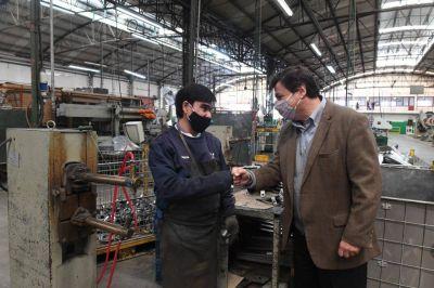 Moroni y Ruiz Malec recorrieron territorio cambiemista, visitaron una empresa y un vacunatorio