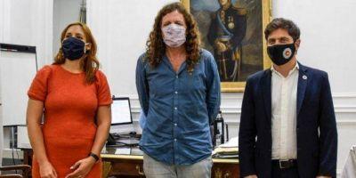 Oscar de Isasi ya hace campaña por el Frente de Todos y crece la idea que sea candidato
