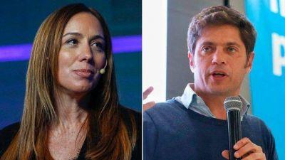 """Axel Kicillof acusó a María Eugenia Vidal de """"repartir sobres"""" y la ex gobernadora le respondió"""