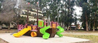 Etapa final de la remodelación del Parque Soñado de los Niños