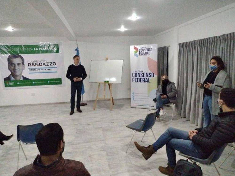 El randazzismo metió primera en La Plata y presentó propuestas locales de cara a las elecciones