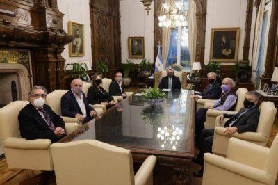 El Llamamiento Argentino Judío se reunió con Alberto Fernández