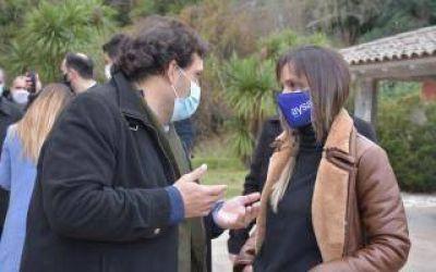 Tigre: Malena Galmarini y Juan Debandi recorrieron el predio recuperado Ecosol