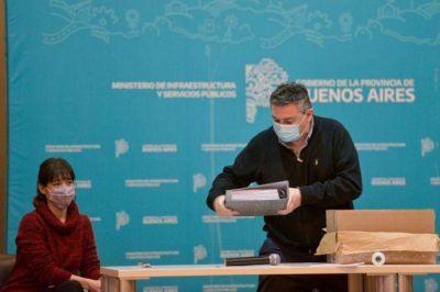 Se licitaron obras cloacales para el partido de Moreno