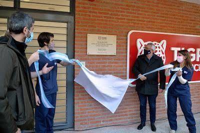 Julio Zamora inauguró el CAFYS y Centro de Salud Mental y Adicciones de Talar sur