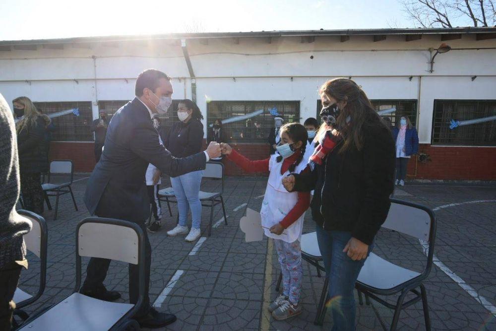 ¡Sí juro! Cómo fue la jura a la bandera de los estudiantes en Florencio Varela