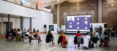 Avellaneda: Magdalena Sierra e Inés Arrondo compartieron una jornada para promover la perspectiva de género en el Deporte