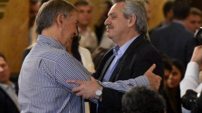 Alberto se muestra con Schiaretti pese a que no habrá lista de unidad