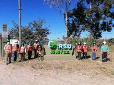 GIRSU. Visita y recorrido por el Centro Ambiental Jujuy