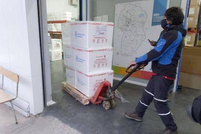 Arribaron a Córdoba otras 102.400 vacunas contra el coronavirus