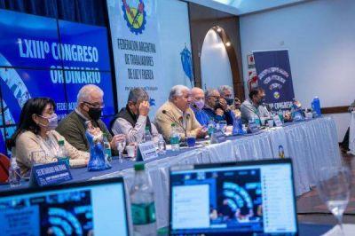 El Congreso Ordinario de Luz y Fuerza contó con la presencia del ministro Moroni