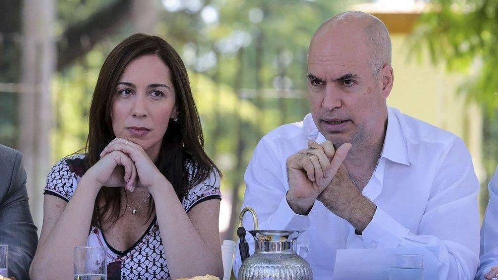 María Eugenia Vidal pone condiciones: si no acuerdan una lista de unidad, no competirá en la ciudad de Buenos Aires