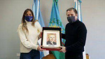 Gray y Malena avanzaron con obras en Esteban Echeverría