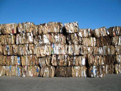 Más de 10 toneladas de cartón reciclable fueron vendidas a Buenos Aires
