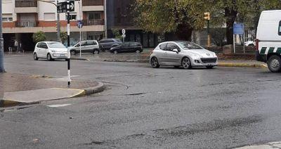 El Frente de Todos solicitó mejorar el estado de las sendas peatonales