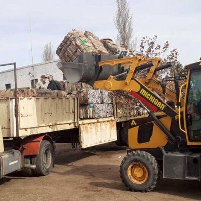 Venden 13,5 toneladas de material clasificado
