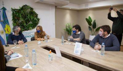 Tolosa Paz y Larroque avanzan con el Plan Accionar en distritos bonaerenses