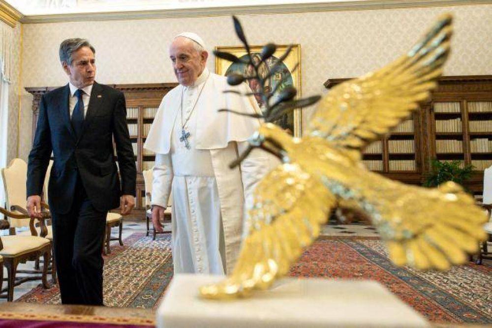 Papa Francisco y Blinken: ISIS, Tierra Santa y libertad religiosa