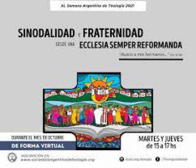Inscriben para la Semana Argentina de Teología 2021