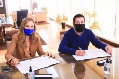 Firma de convenio al Plan AccionAR y Mercados MultiplicAR