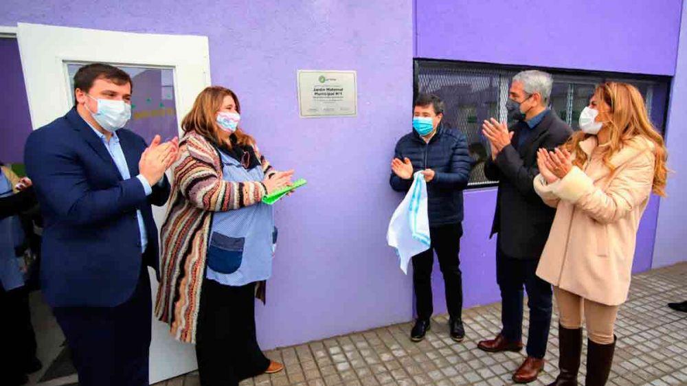 Arroyo destacó el reintegro por compras con débito para sectores vulnerables e inauguró obras en Avellaneda