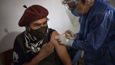 Más del 35% de la población argentina está vacunada con al menos una dosis