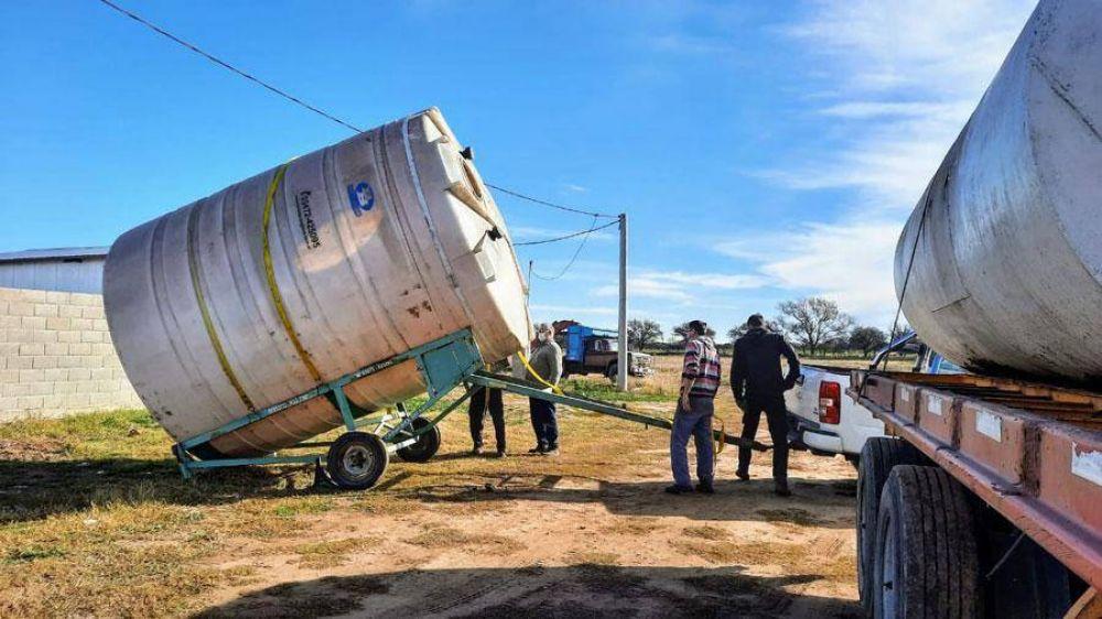 Instalan en Metileo una planta para el reciclado de aceites