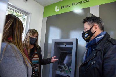Merlo   Nuevos cajeros automáticos en Parque San Martín