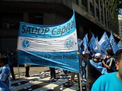 SADOP Capital exigió soluciones ante las bajas temperaturas y la presencialidad