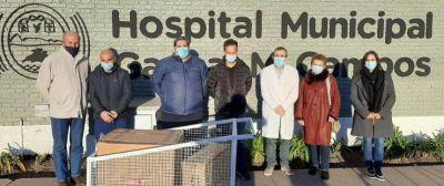 Donaron un respirador al Hospital Gaspar Campos