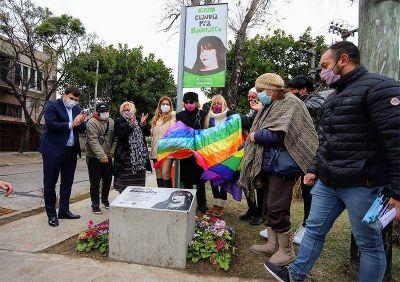 En el Día Internacional del Orgullo Gay, Chornobroff y Sierra homenajearon a Claudia Pía Baudracco