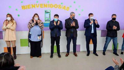 Ferraresi y Arroyo inauguraron el edificio para el Jardín Maternal 1 de Avellaneda