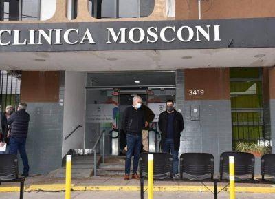 Espaldarazo del IOMA de cara a la administración municipal de la Clínica Mosconi