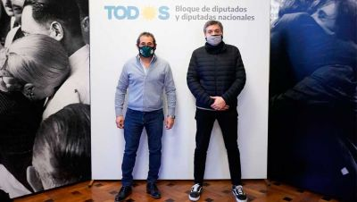 La foto Sasia-Máximo Kirchner: una movida de los Moyano para enojar a los
