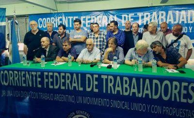 La Corriente Federal de Trabajadores rechazó el proyecto empresarial que busca flexibilizar las indemnizaciones