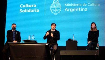 Provincia entregó la tercera cuota del Fondo Cultura Solidaria